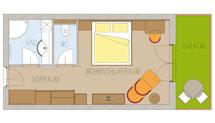Doppelzimmer Landskron DZ2