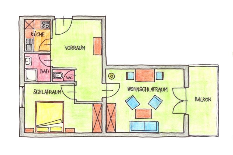 landhaus p lzl in k rnten ferienwohnungen und preise. Black Bedroom Furniture Sets. Home Design Ideas