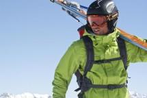 Großansicht Skifahrer