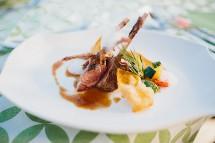 Großansicht Kulinarische Köstlichkeiten im Restaurant