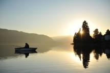 Großansicht Stimmung am Ossiacher See