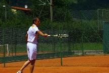 Großansicht Tennis spielen im Urlaub