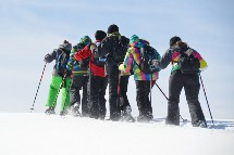 Großansicht Schneeschuhtour am Ossiacher See