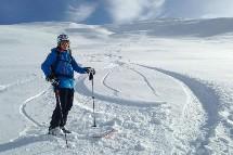 Großansicht Skitour im Winterurlaub